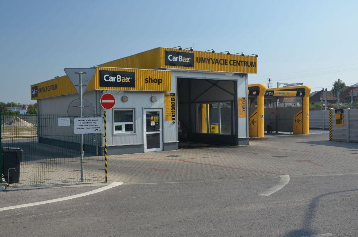 Autoumyváreň CarBax Nitra-Mlynárce 1