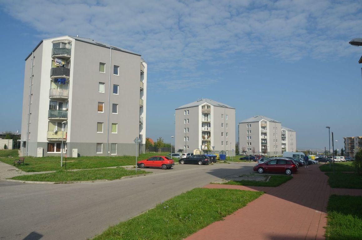 Bytové domy sídlisko Nitra-Diely 1