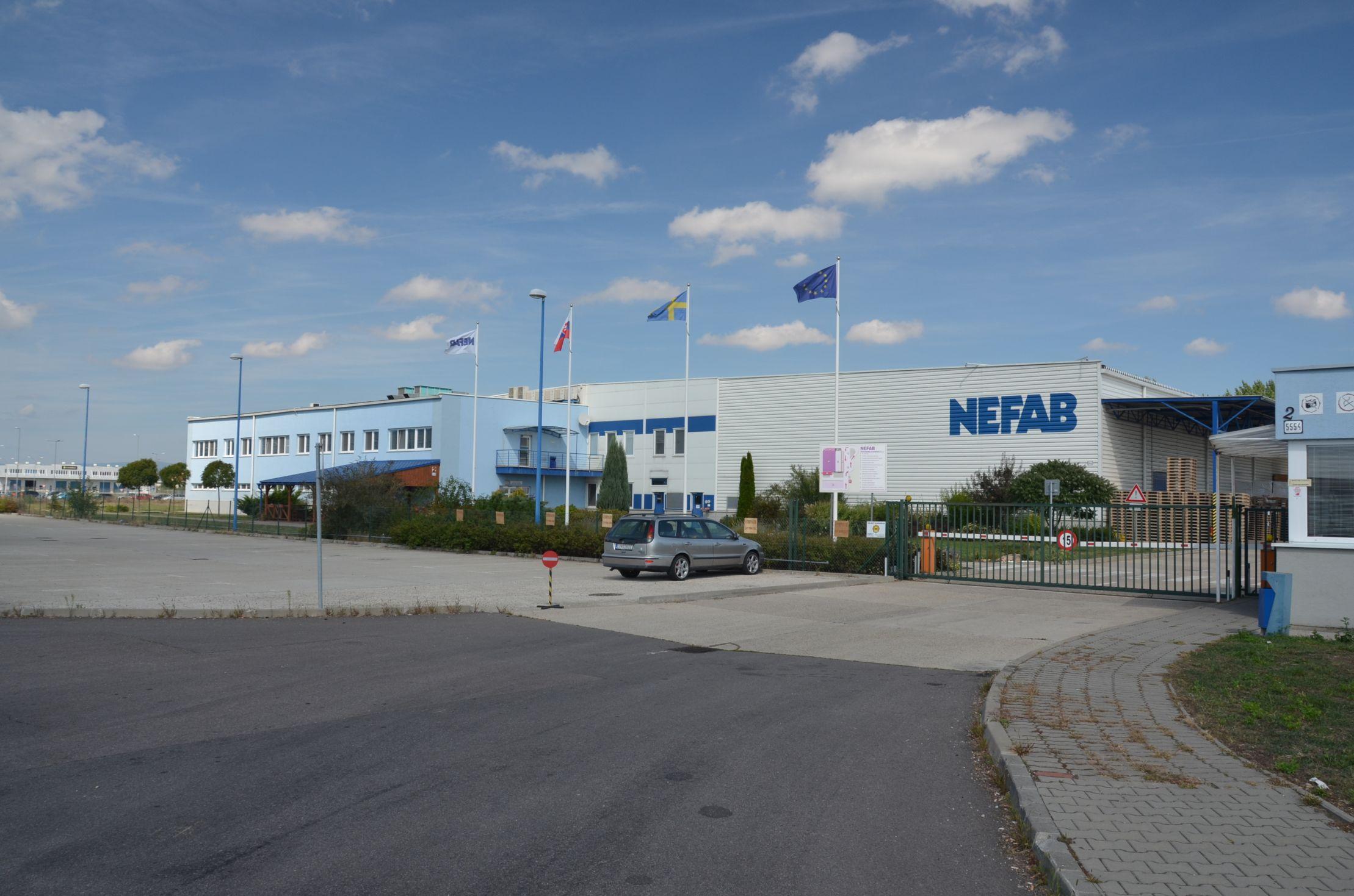 Závod NEFAB Packaging Slovakia s.r.o. 1